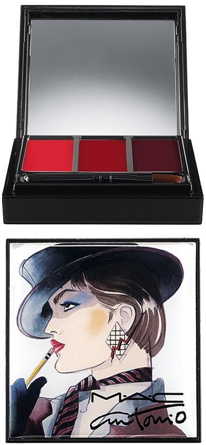 M·A·C MAC Antonio Lopez for M·A·C '3 Color - Red' Lip Palette (Limited Edition)