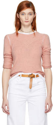 Etoile Isabel Marant Pink Kios Sweater