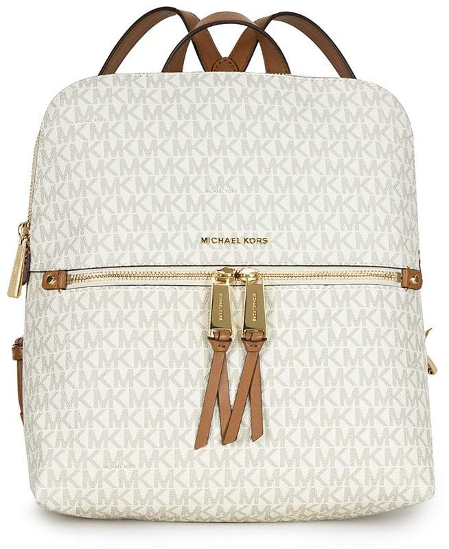Michael Kors Rhea Medium Slim Backpack - Vanilla - ONE COLOR - STYLE