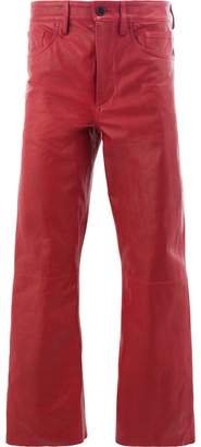Ann Demeulemeester wide-leg cropped trousers