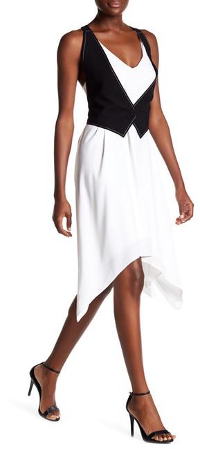 BCBGMAXAZRIABCBGMAXAZRIA Marciella Faux Vest Dress