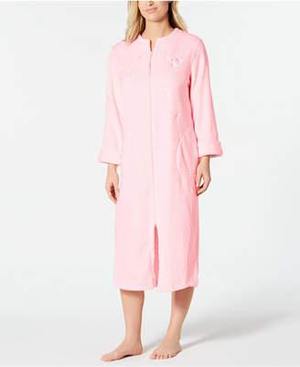 Miss Elaine Fleece Long Zip Robe