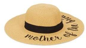 Mother Of The Bride Embroidered Sun Hat