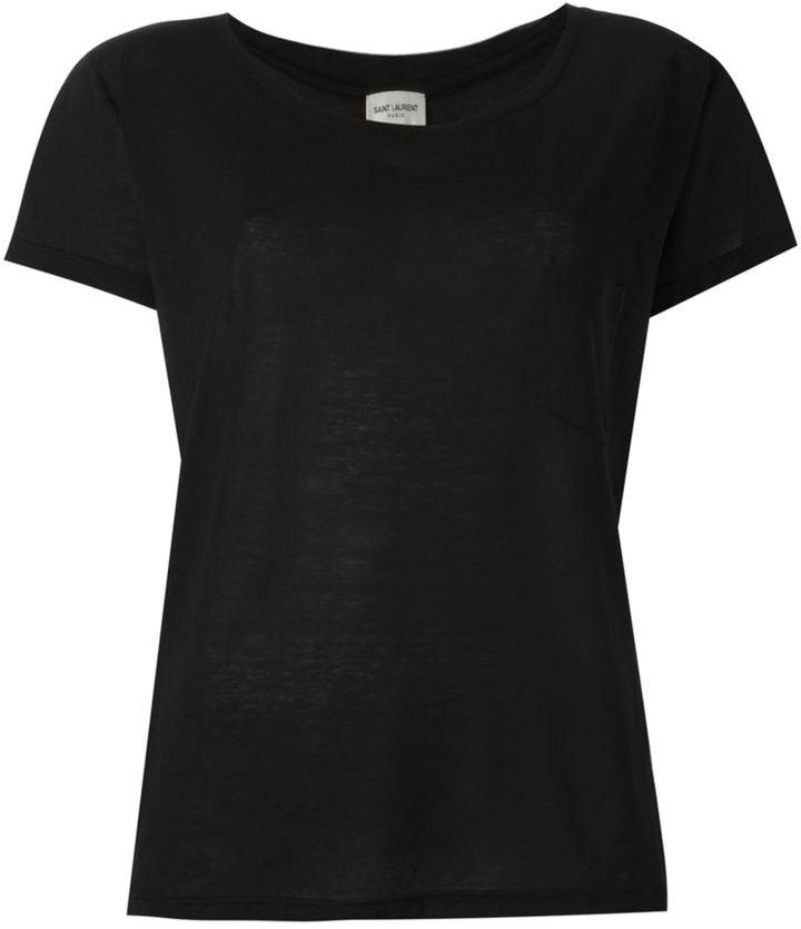 Saint LaurentSaint Laurent loose fit T-shirt