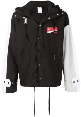 Puma x Ader Error logo rain jacket