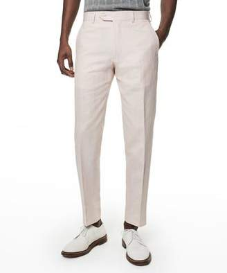 Todd Snyder Made in NY Cotton Twill Hudson Trouser in Pink