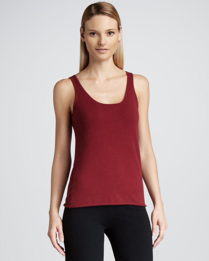 Minnie Rose Sleeveless Layering Tank