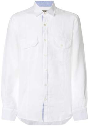 Canali long sleeve shirt