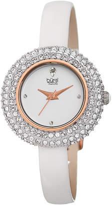 Burgi Women's Patent Watch