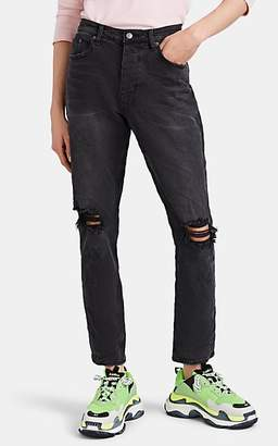 Ksubi MEN'S ROCKY DISTRESSED RELAXED JEANS