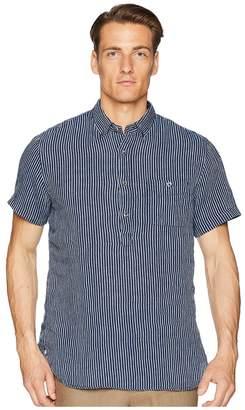 Todd Snyder Short Sleeve Popover Stripe Shirt Men's Short Sleeve Knit