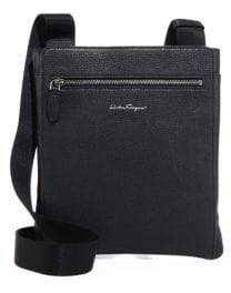 Salvatore Ferragamo Men's Float Crossbody Bag - Black