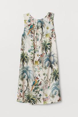 H&M Dress with Ties - Beige