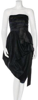 Rachel Roy Strapless Mini Dress $85 thestylecure.com