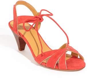 Sezane Victoire Ankle Tie Sandal
