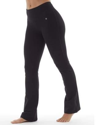 Bally Total Fitness Women's Core Active Tummy Control Yoga Pant Long Length