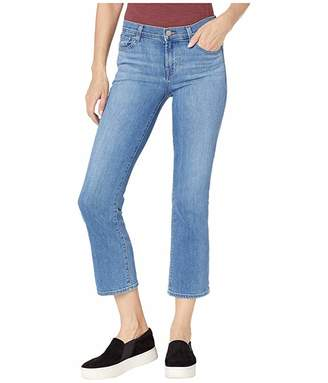 J Brand Selena Mid-Rise Crop Boot in True Love
