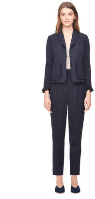 Rebecca Taylor Spring Suiting Ruffle Jacket