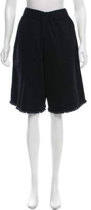 Marques Almeida Marques' Almeida Denim Knee-Length Shorts
