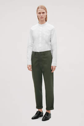 Cos RELAXED TWILL CHINOS