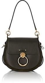 Chloé Women's Leather & Suede Shoulder Bag - Dk. Green
