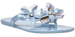 Nine West Mapilo Flower Embellished Jelly Flip Flop
