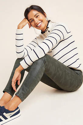 Joe's Jeans The Icon Mid-Rise Coated Ankle Jeans