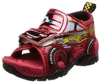 Disney (ディズニー) - [ディズニー] サンダル キッズ 靴 ディズニー カーズ マックイーン ジャクソンストーム DN C1216 レッド 16 cm