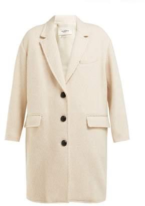 Etoile Isabel Marant Gimi Oversized Wool Blend Tweed Coat - Womens - Ivory