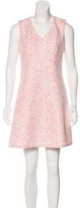 Julie Brown Bouclé Mini Dress