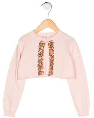 Billieblush Girls' Embellished Cardigan w/ Tags
