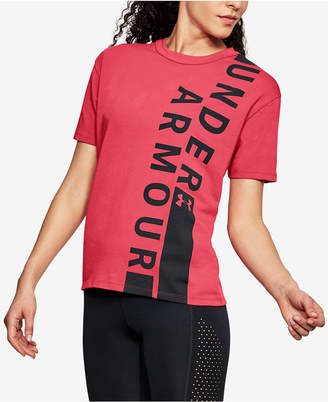 Under Armour Charged Cotton Logo T-Shirt
