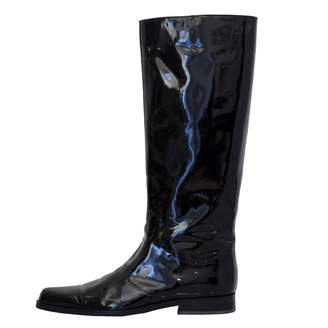 Marc Jacobs Black Patent leather Ankle boots