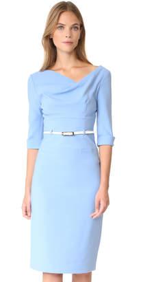 Black Halo 3/4 Sleeve Jackie O Dress $375 thestylecure.com