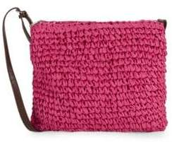 Straw Studios Top Zip Crossbody Bag