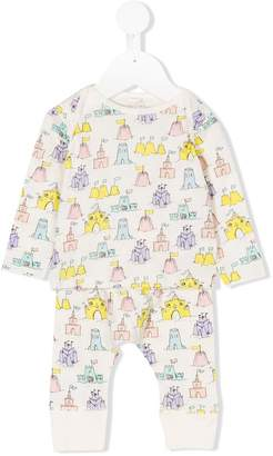 Stella McCartney Buster & Macy castle pajama set