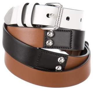 Prada Double-Buckle Wrap-Around Belt