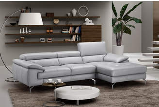 J&M Furniture Liam Leather Sectional Orientation: Right Hand Facing