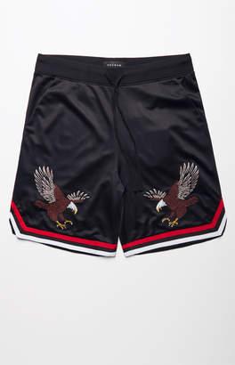 Pacsun Baller Embroidered Basketball Shorts