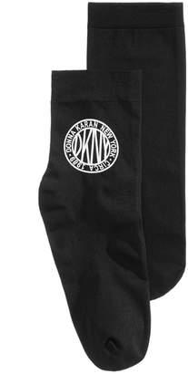 DKNY Token Logo Anklet Socks