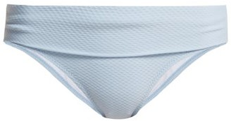 Heidi Klein Half Moon Montego Bay Bikini Briefs - Womens - Light Blue