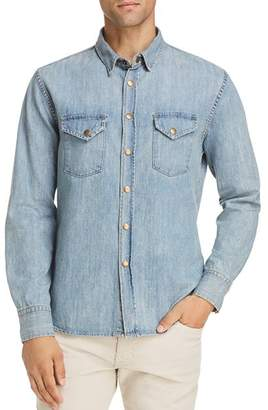 Billy Reid Distressed Sport Shirt