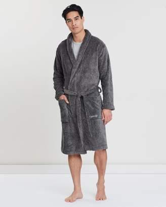 Calvin Klein Plush Robe