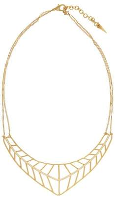 Botkier V-Shaped Cage Collar Necklace