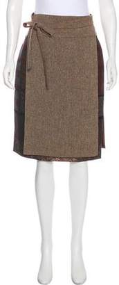 Kenzo Wool Knee-Length Skirt