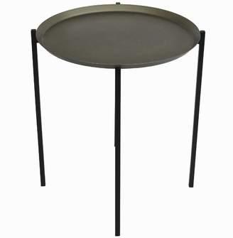 Grey Tomo Metal Side Table