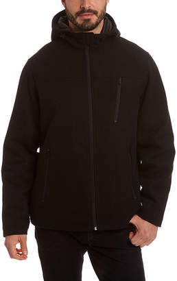 Excelled Leather Excelled Men's Comfort Stretch Lightweight Wool Hoody