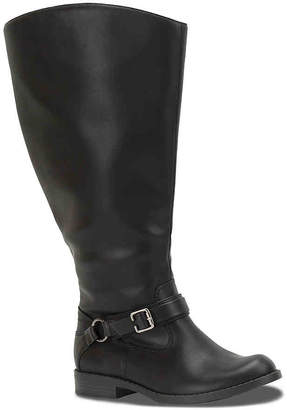 Easy Street Shoes Quinn Extra Wide Calf Riding Boot - Women's