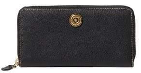 Lauren Ralph Lauren Leather Medium Zip Wallet