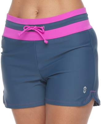 Free Country Women's Drawstring Swim Shorts